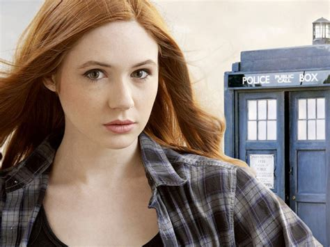 karen gillan mum doctor who 10 companions younger than karen gillan den