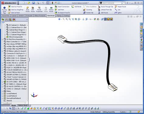 cad engineer solidworks premium electrical routing