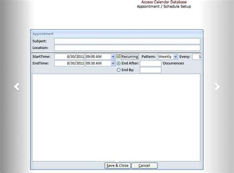 ms access calendar template 31 microsoft access templates free premium templates
