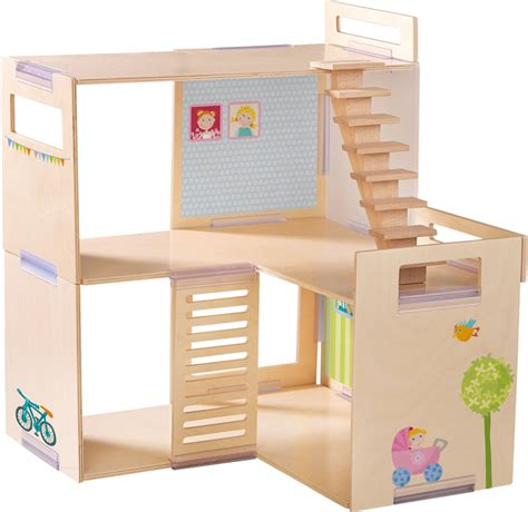 haba doll house haba dollhouse villa spring morning little friends 301781 online at papiton