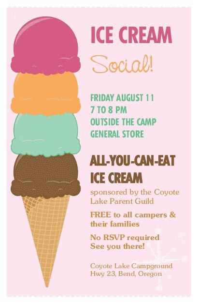 ice cream flyer summer flyers