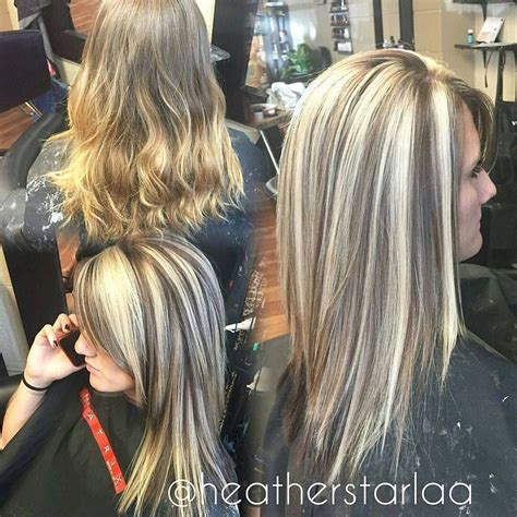 chunky highlights with a partial shave best 25 dark underneath hair ideas on pinterest blonde