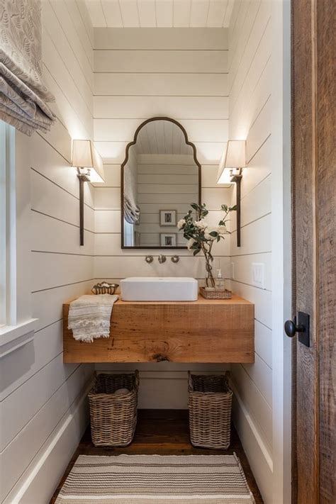 shiplap bathroom farmhouse modern farmhouse rustic