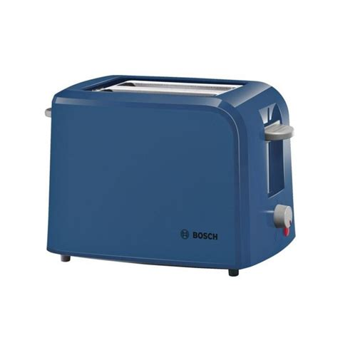 Small Toaster Bosch Collection 2 Slice Toaster Blue Tat3a022gb