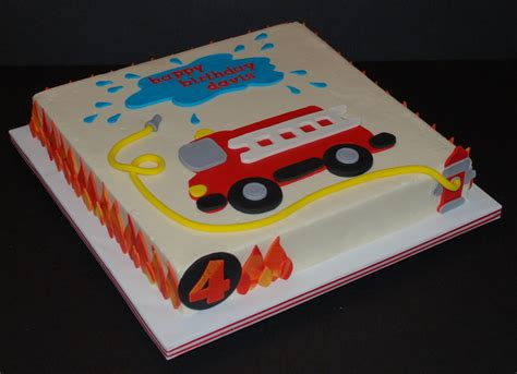 firetruck birthday cake firetruck cake for a little boy