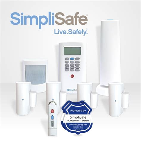 Wireless Alarm System simplisafe2 wireless home security system 8 plus