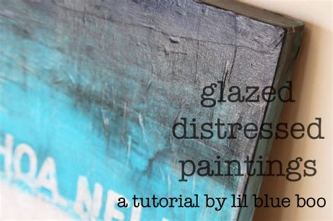 watercolor glazing tutorial glazed distressed paintings a tutorial