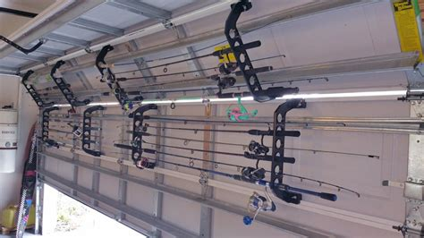 Rods Overhead Door Rod Gear Storage Ideas The Hull Boating And Fishing Forum