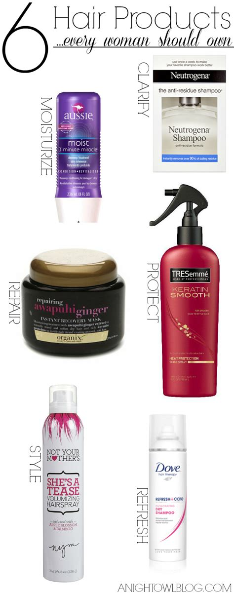 must have hair six must have hair products