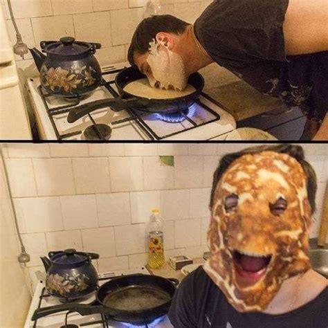 Pancake Meme - epic pix 187 like 9gag just funny 187 epic pancake mask