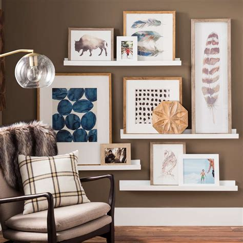 stunning gallery wall ideas  create  accent wall