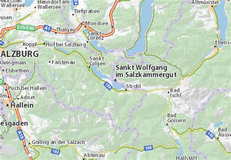im the map map of sankt wolfgang im salzkammergut michelin sankt wolfgang im salzkammergut map viamichelin