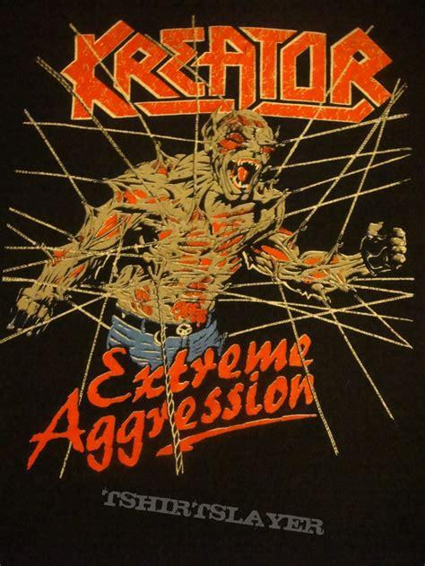 Kreator Aggresion kreator aggression tour shirt tshirtslayer