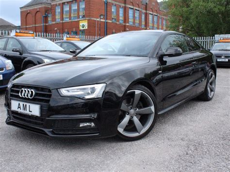 Audi A 5 S Line by Audi A5 1 8 Tfsi 170 S Line Black Edition Coupe For Sale