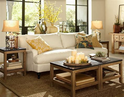 Like The Candle Grouping On Tray For Lr Coffee Table Decorating Sofa Table