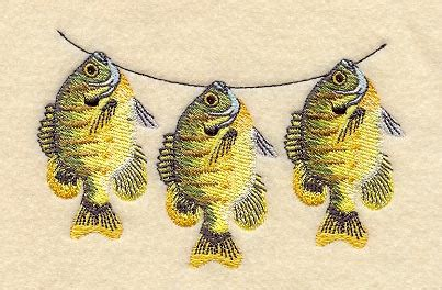 String Fish - machine embroidery designs at embroidery library