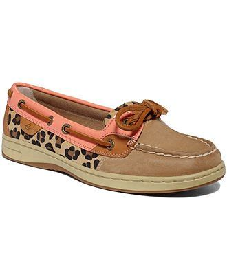 boat shoes macys sperry top sider women s angelfish boat shoes boat shoes