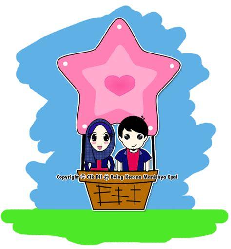 doodle intan kerana manisnya epal doodle on air balloon
