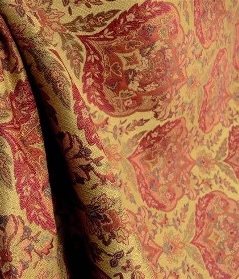 red drapery fabric 9112 029 damask upholstery red fabric traditional