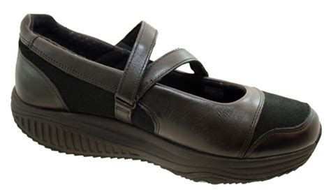 Skechers Xw by Skechers Shape Ups Xw Hyperactive Womens Black Leather
