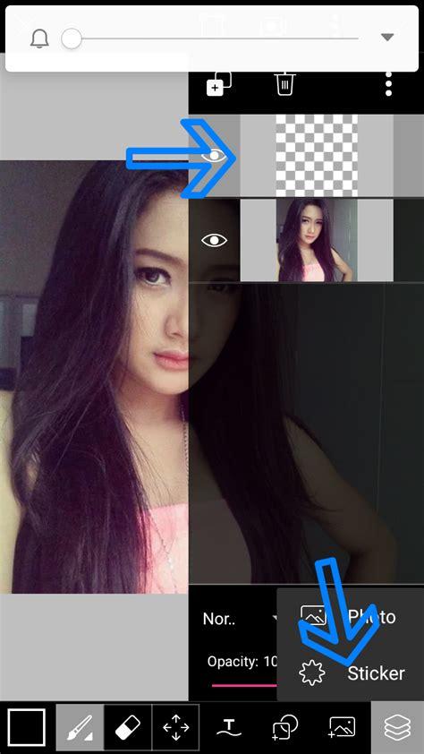 tutorial picsart android keren edit foto grime art keren di picsart android