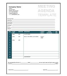 meetings template 46 effective meeting agenda templates template lab
