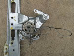diy rear window regulator fix advanced