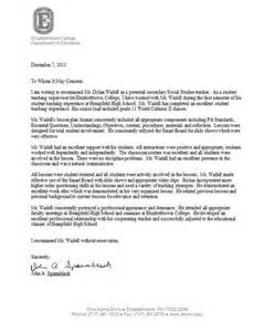 Template Letter Of Recommendation For Student Sample Letters Of Recommendation For Student Teachers