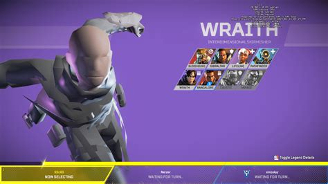 wraith apexlegends