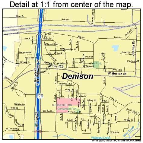 denison texas map denison texas map 4819900