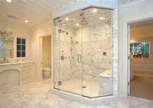 15 sleek and simple master bathroom shower ideas model