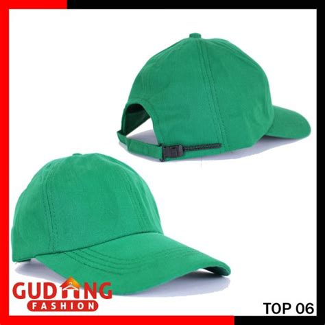 Topi Baseball Putih Rotiform Keren Yomerch topi keren polos katun twill hijau top 06 gudang fashion