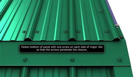 Barn Roofs by How To Install Gambrel Trim For Union S Masterrib Panel
