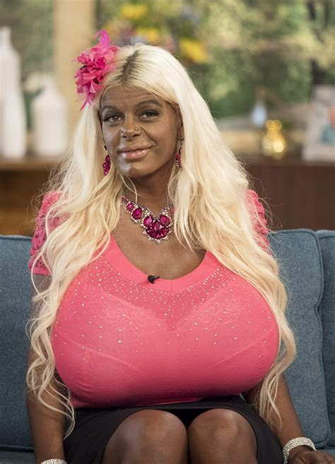 martina big dark skin white glamour model plans to go to africa to learn to be