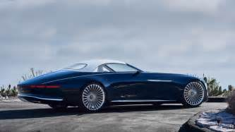 Mercedes Cars Vision Mercedes Maybach 6 Mercedes