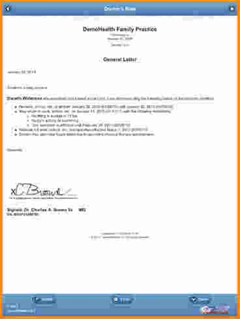 5 doctor note generator authorization letter