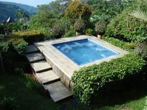 Landscaping Ideas For Small Backyards Whirlpool Im Garten Outdoor Jacuzzi Wird Zum Blickfang