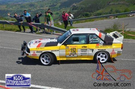 Audi Sport Quattro S1 For Sale by Audi Sport Quattro S1 Rally Car