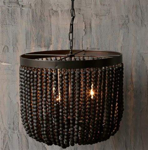 Black Beaded Chandelier Beaded Chandelier Look 4 Less And Steals And Deals