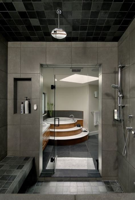 Modern Bathroom In Modern House Interior To Merge With Nature Digsdigs