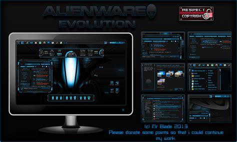 themes for windows 8 1 alienware alienware evolution by mr blade on deviantart