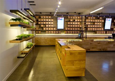 Low Cost Restaurant Interior Design by Sparc The Apple Store Of Marijuana Shops