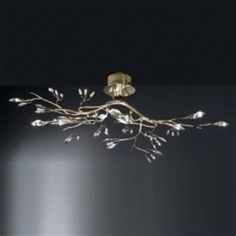 Gold Coloured Ceiling Lights Ceiling Lights Wofi Lighting Albero Glass And Chrome Ceiling L