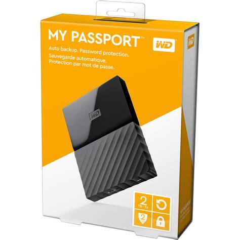 Wd Passport 2 Tb Usb 3 0 wd my passport colorful 3rd generation usb 3 0 2tb black