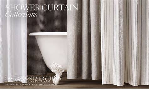 restoration hardware curtains sale shower curtains rh
