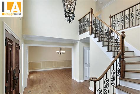 Fabric To Cover Dining Room Chairs living room mediterranean staircase los angeles by