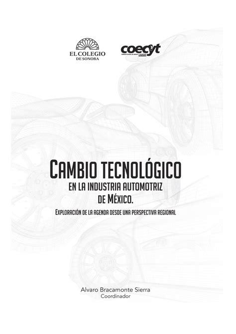 Cambio tecnológico en la industria automotriz de México