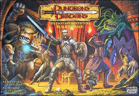 printable adventure board games dungeons dragons the fantasy adventure board game