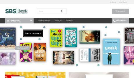 libreria internacional sbs librer 237 a internacional tienda online