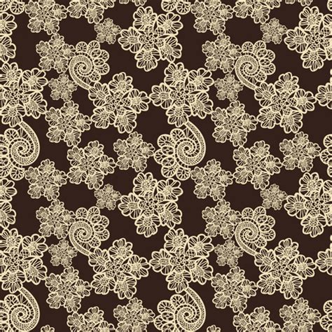 seamless lace pattern vector retro lace ornament pattern seamless vector free vector in